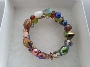 Assorted Shape Beaded Bracelet