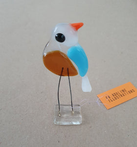 Elle Bird - Glass Bird Decoration