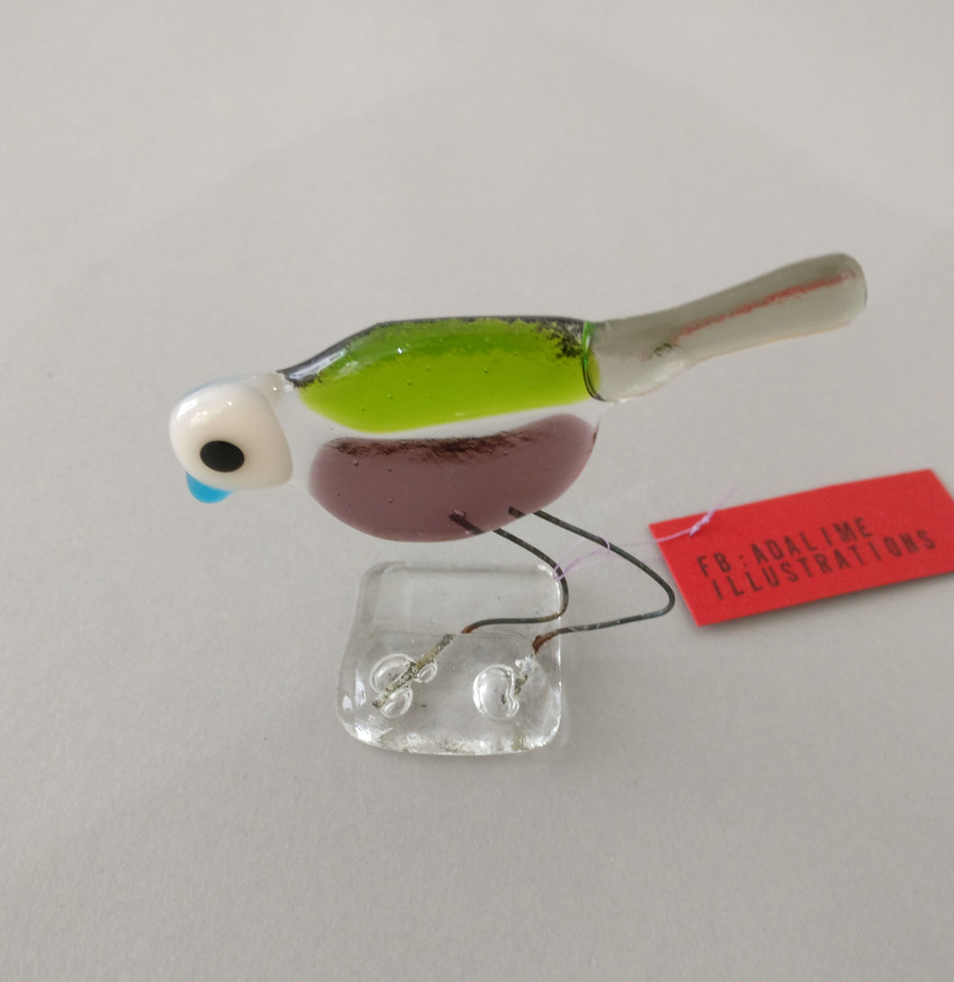 Jill Bird - Glass Bird Decoration