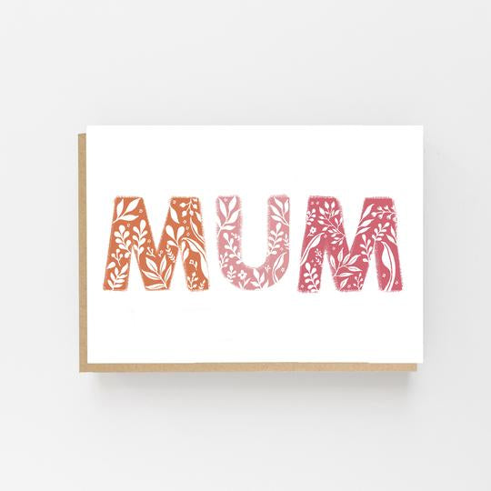 Mum - Greeting Card