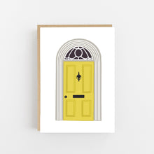 Load image into Gallery viewer, New Home - Yellow Door - Greeting Card