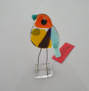 Ollie Bird - Glass Bird Decoration