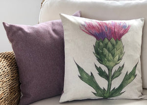 Small Thistle Cushion