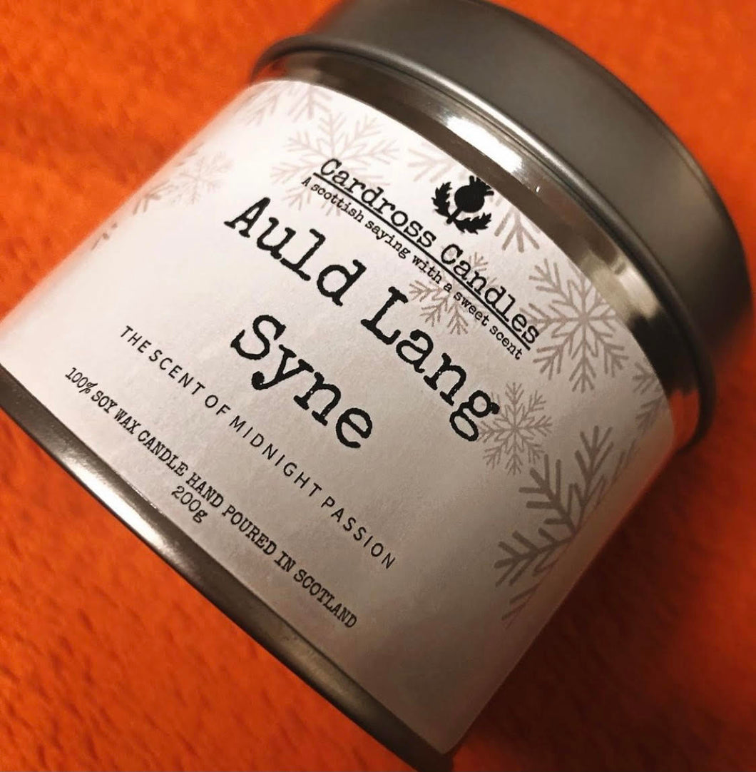 Auld Lang Syne - Candross Candles