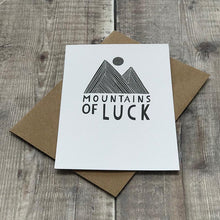 Load image into Gallery viewer, Mountains of Luck - Greeting Card