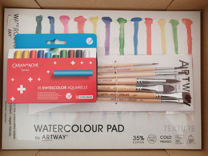 Water-Soluble Wax Pastel Set
