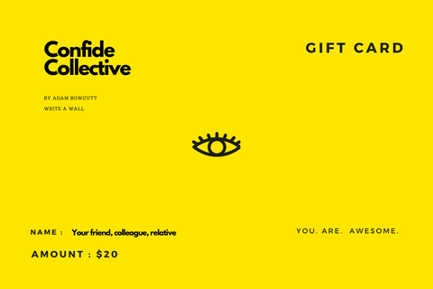 [Digital Gift Card] Confide Collective