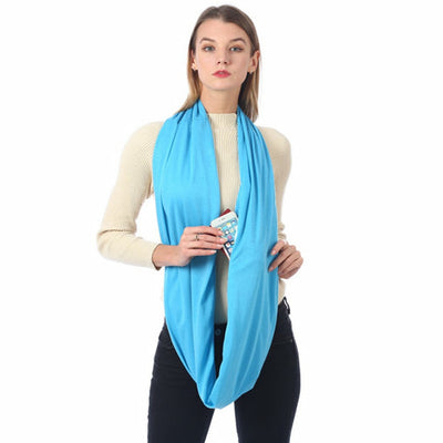 Best Autumn Scarf - Winter Scarf with Pockets | AD Main Deal