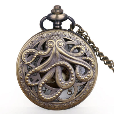 Quartz Pocket Watch - Octopus Pocket Watch | AD Main Deal