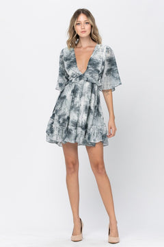Josie Ruffle Mini Dress