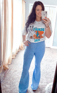 Cloud Belle Bottom Jeans