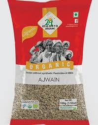 24M Org ajwain seeds 200gm