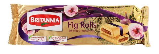 Britannia Chocolate  Fig roll 3.17oz.