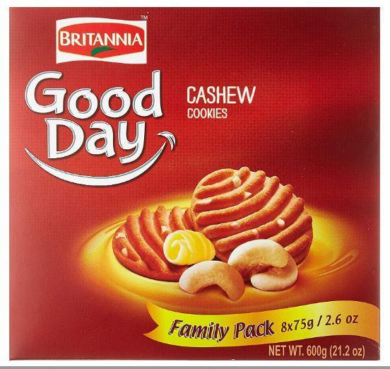 Britannia Good day Cashew Family Pack 600g