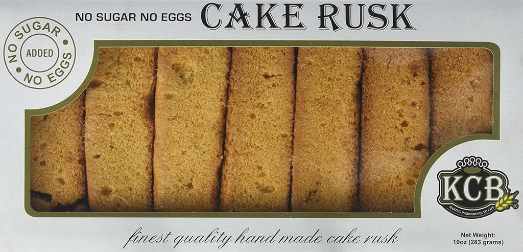 KCB No Sugar No Eggs Cake Rusk 280g