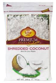 Deep IQF Shreded Coconut 12oz