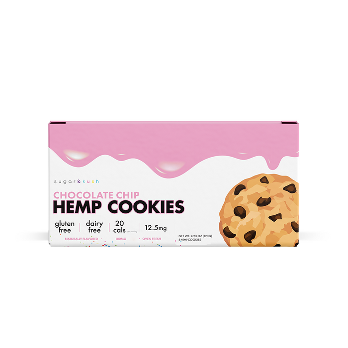 Chocolate Chip Hemp Cookies