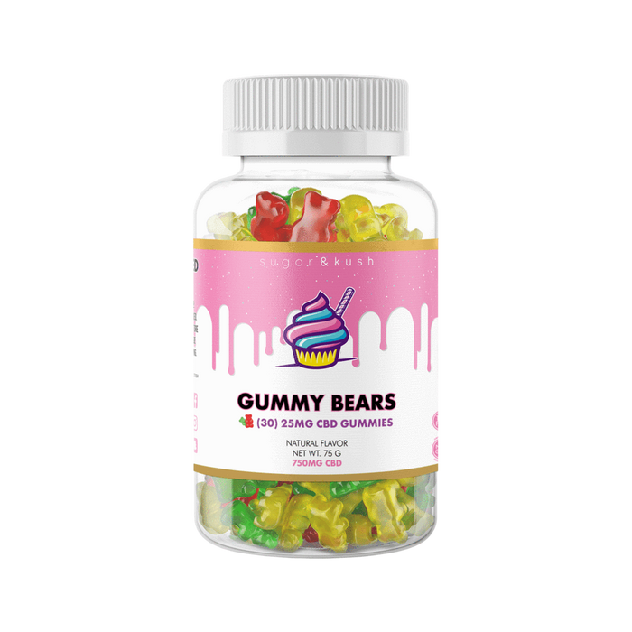 Hemp Gummies 750mg (30 count) - Sugar & Kush