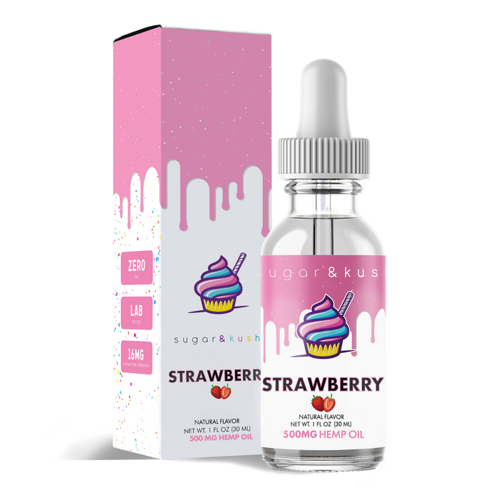 Strawberry Hemp Oil