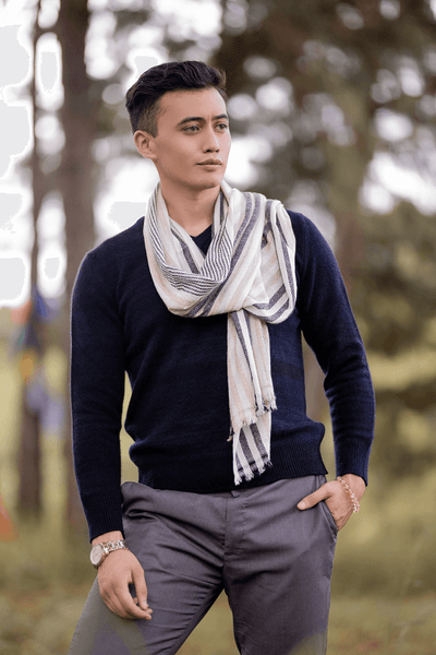 Men`s V-neck Cardigan