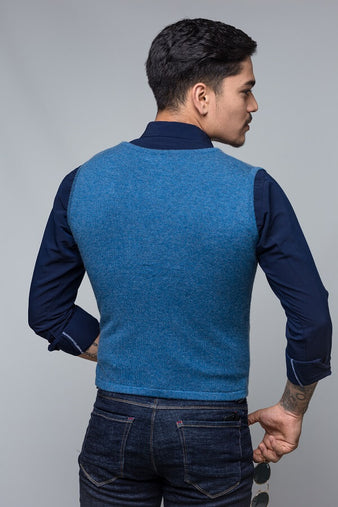 Men`s V-neck Bottumn Sweater