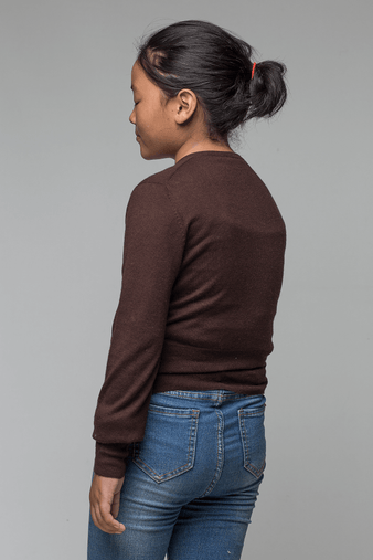 Manisha Brown Sweater