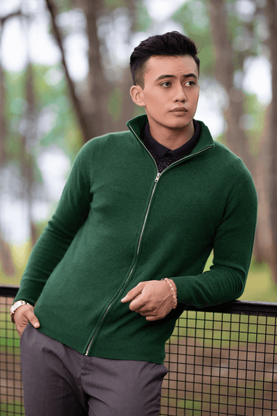 Men`s Zip Sweater