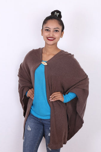 Brown Wing Poncho