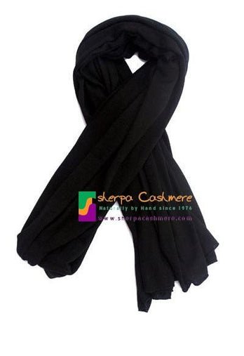 plain Black Shawl