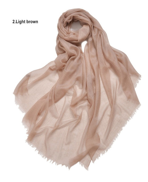 Cashmere  Scarf  Warm Pashmina Thin Multi Colors  Women Shawl Soft Scarves  Cosywarmer