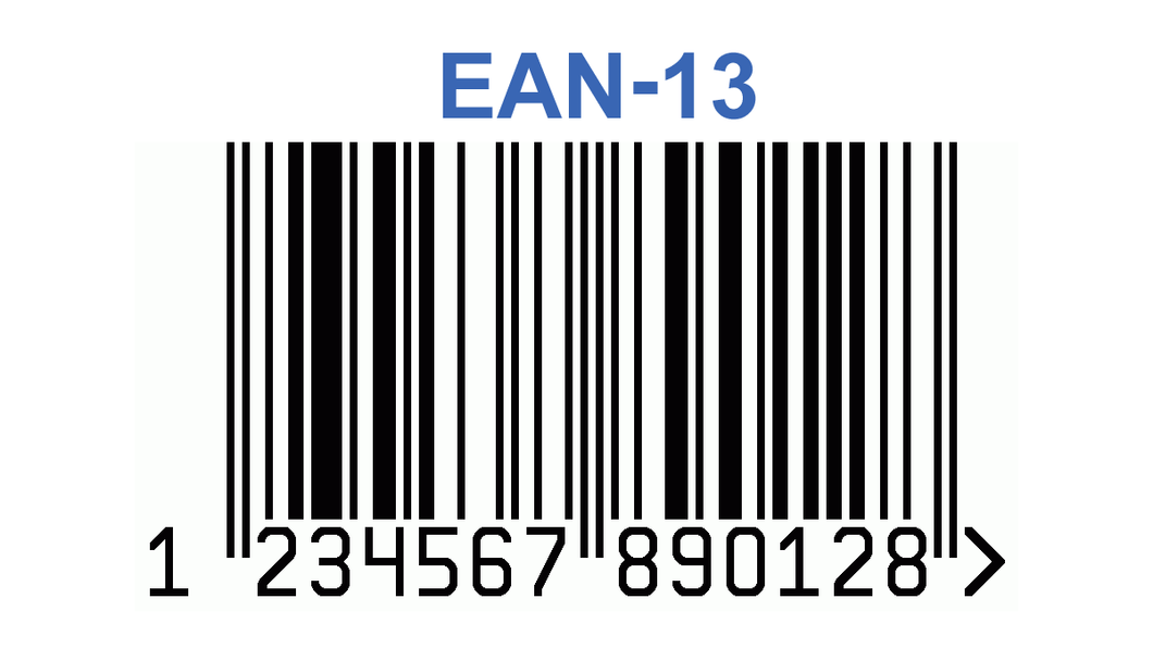 EAN-13 Barcode Package(s) - Paddy's Print & Design