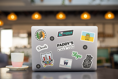 Vinyl Stickers - Die Cut Stickers - Paddy's Print & Design