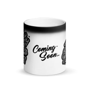 The Edible King - Matte Black Magic Mug - Limited Edition (only 100 in stock) - Paddy's Print & Design