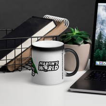 Load image into Gallery viewer, MARTIN'S WORLD - Matte Black Magic Mug - Paddy's Print & Design