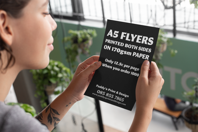 A5 Flyers - Paddy's Print & Design
