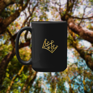 The Edible King - 15oz Golden Crown Edition Mug - Only 100 Made - NOW AVAILABLE !!! - Paddy's Print & Design