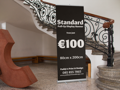 Standard Pull-Up Display Banner - Paddy's Print & Design