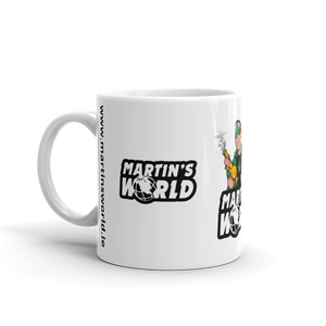 MARTIN'S WORLD - White glossy mug