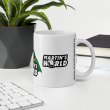Load image into Gallery viewer, MARTIN'S WORLD - White glossy mug