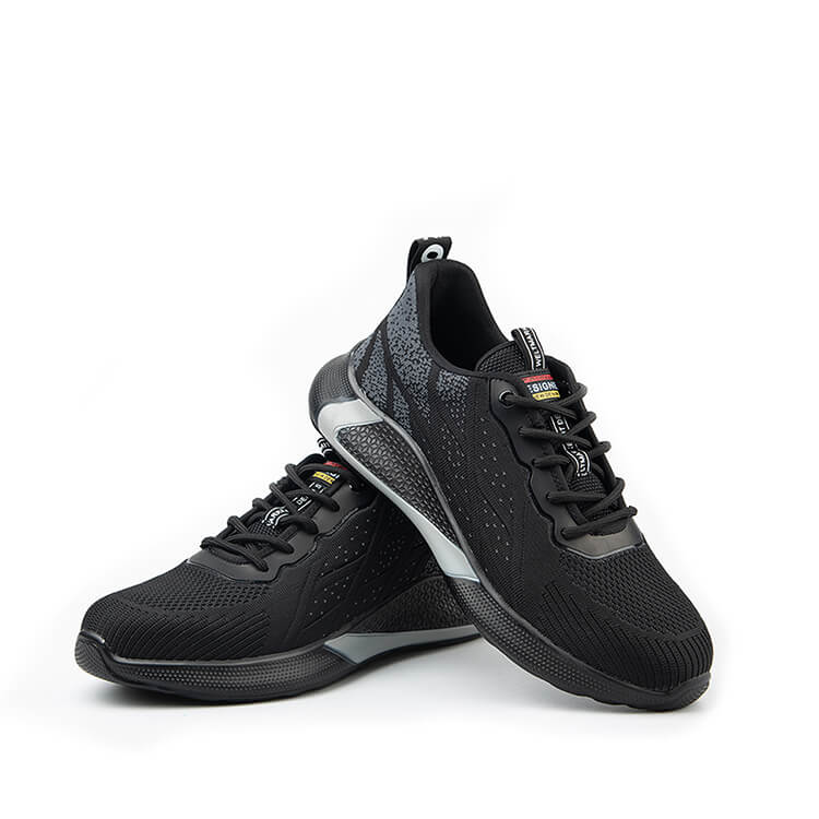 Hydra Black Safety Trainers Safety