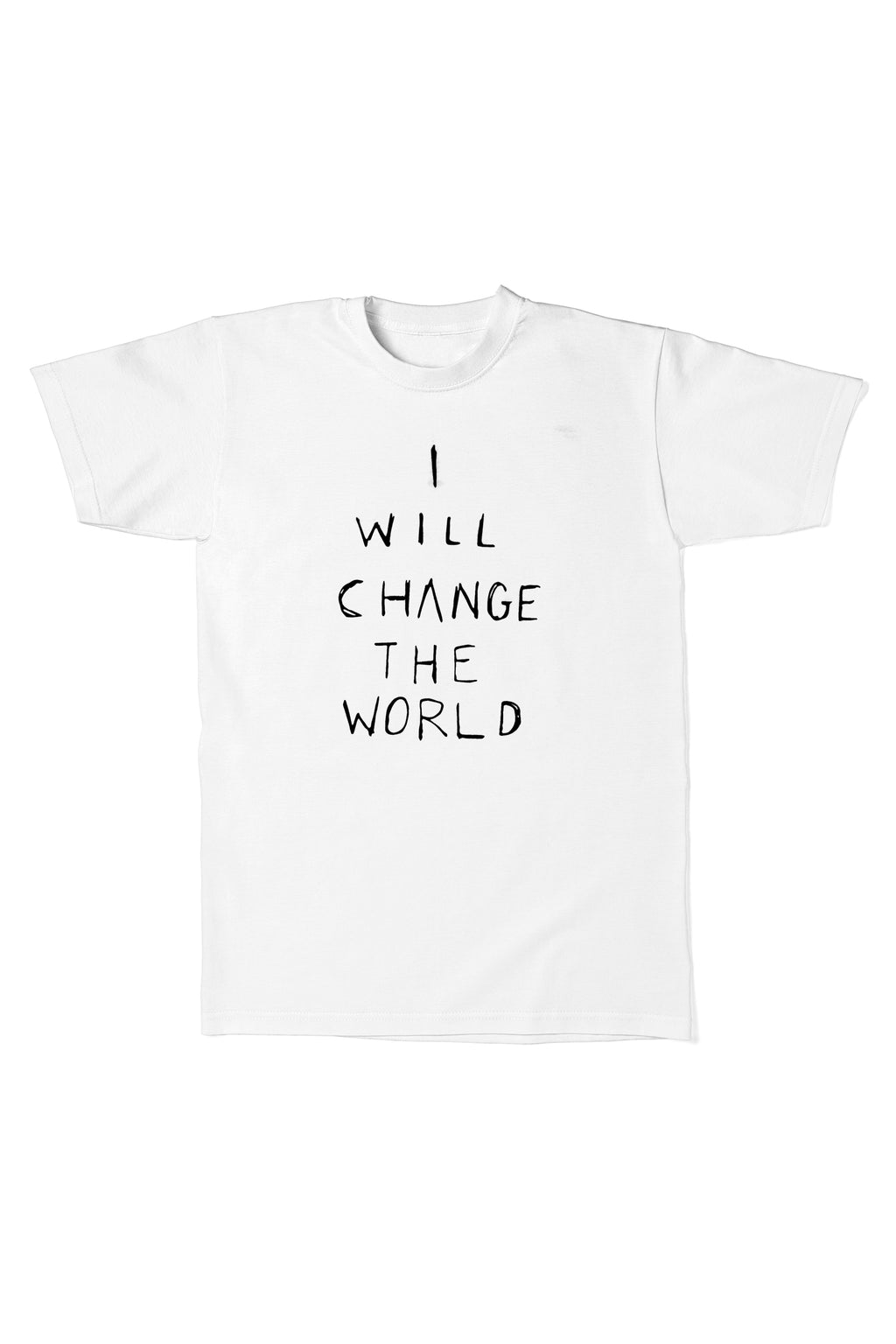 I Will Change The World S/S T-Shirt