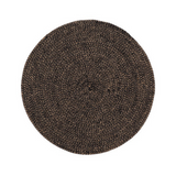 Home Delight jute placemat black