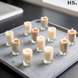 Home Society votive candles, kaarsjes
