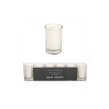 Home Society votive candles, kaarsjes wit white