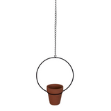 Housevitamin terracotta plantenhanger aan ketting