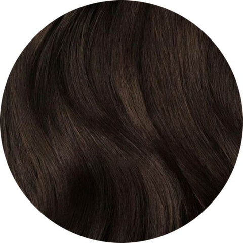 Dark Brown #4 hair extensions