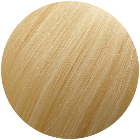 Platinum Blonde with a Tinge of Golden #613 Clip-In hair extensions