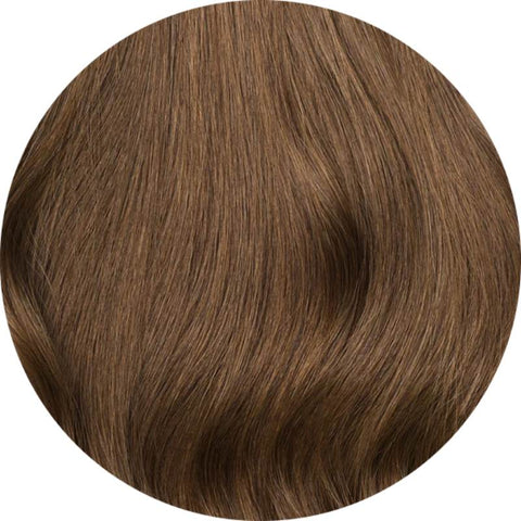 Medium Chestnut Brown #6 I-Tip hair extensions