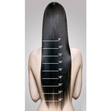 hair extensions chart
