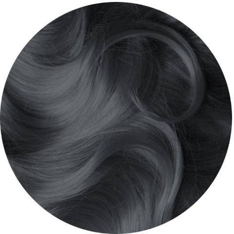 Dark Silver (Steel Gray) hair extension